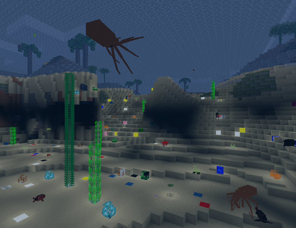 CoderSea Minetest seaplants